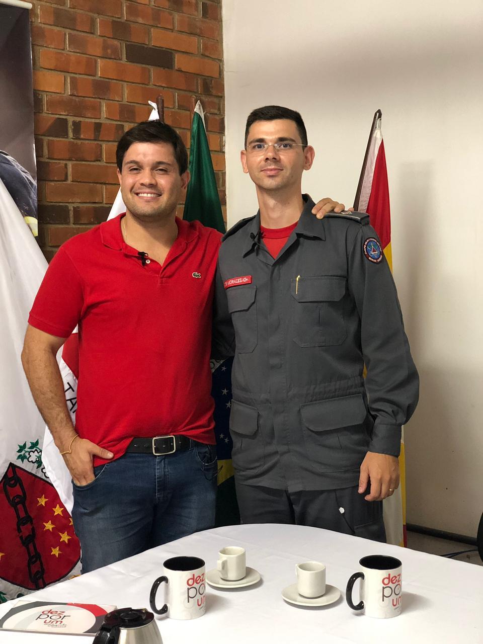 Tenente Morales - Corpo de Bombeiros