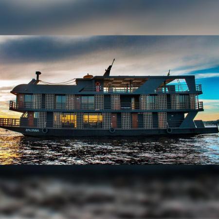 Expedição Floresta Amazônica - Barco Zaltana